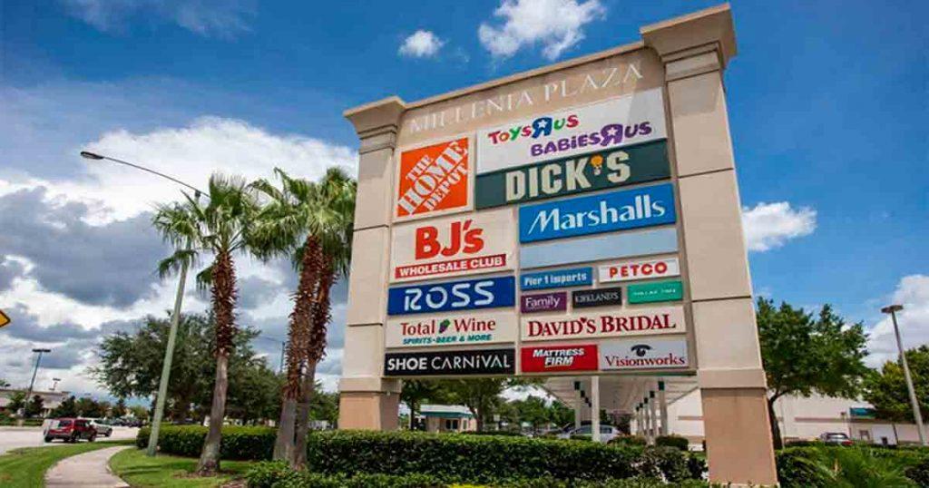 6ce210ae60c Os destaques das lojas do Millenia Plaza (fora do shopping) ficam para