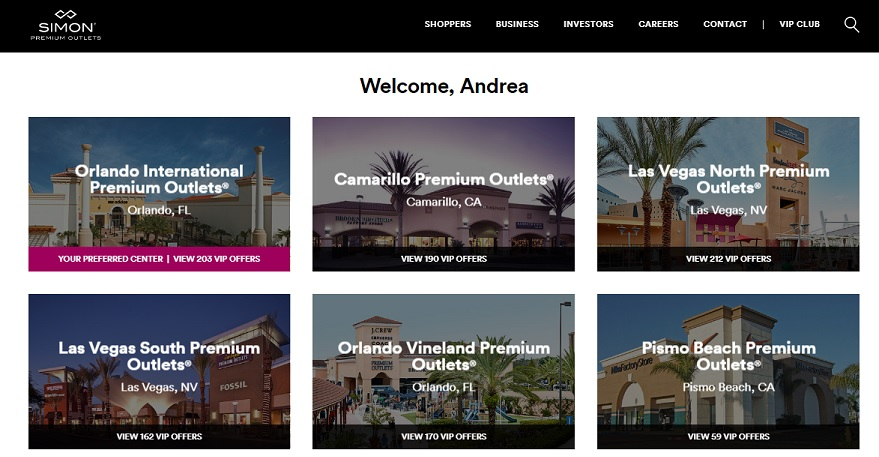 Cupons de Desconto para os Outlets de Orlando 1e7d8c2718